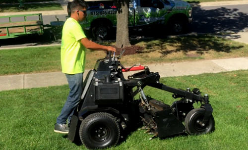 Core aeration service