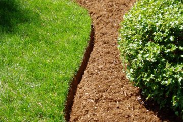 Spreading of mulch