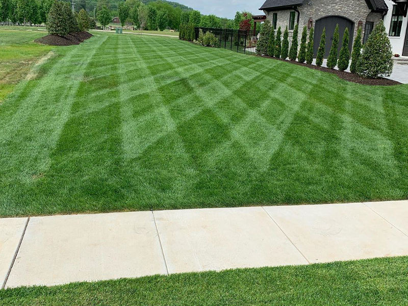 Residential mowing service